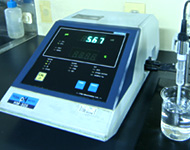 Alkali dissolution test: